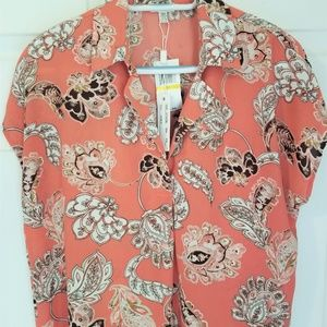 Spense High Low Blouse NWT Sizes Medium and Large